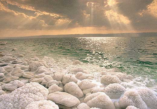 Dead Sea (not Red Sea, but geographically close)