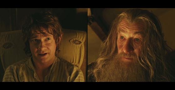 Bilbo Gandalf